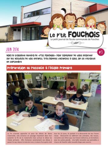 Le P'tit FOUCHOIS | juin 2018